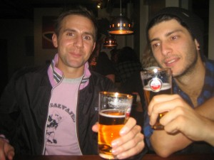 Pints with a Portuguese playboy