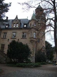 The grand villa of the Liebieghaus
