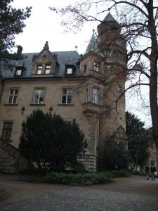 The grand villa of the Liebieghaus