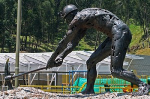 Zipaquira-Miner-Sculpture