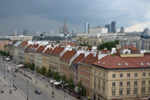 Warsaw the city of contrasts