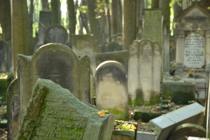 Jewish Cemetery - such a beautiful yet spooky place