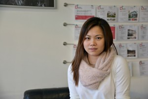 Tran, 30, works at a law office in Prague's Sapa district.