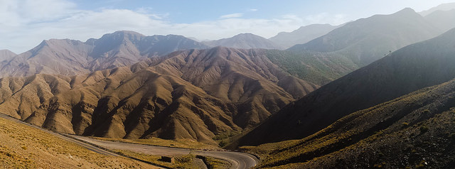 Atlas Mountains (جبال الأطلس) (Morocco) – Tola A. The magnificent landscape of the Atlas Mountains.