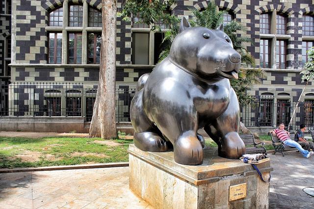 Botero's distinctive statues adorn Medellín / Source: Jorge Gobbi, Flickr, cc by