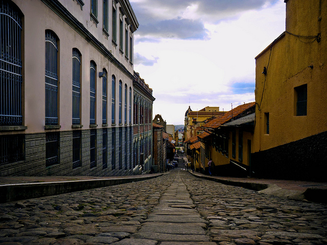 The cobbled streets are full of history / Source: Diego F. Garcia P., Flickr, cc by