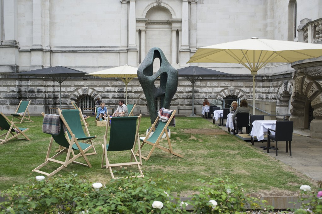 Hepworth on the lawn. Ie. the Tate's version of a garden gnome.