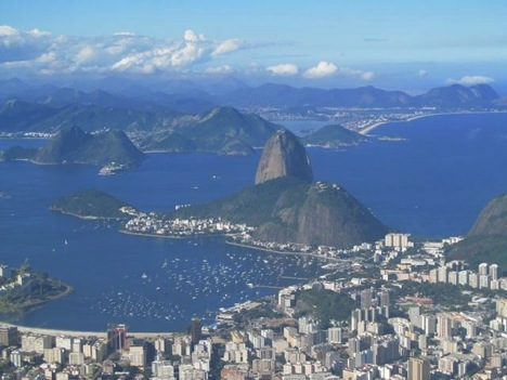 The natural beauty of Rio de Janeiro   Credit: Daytours4u