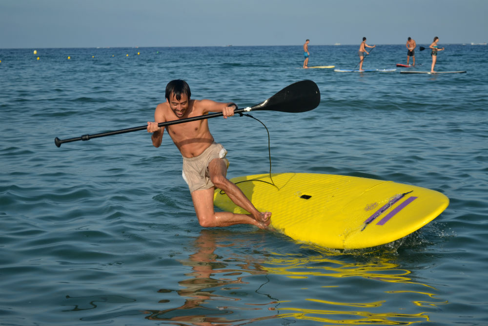 World's worst SUP-ler