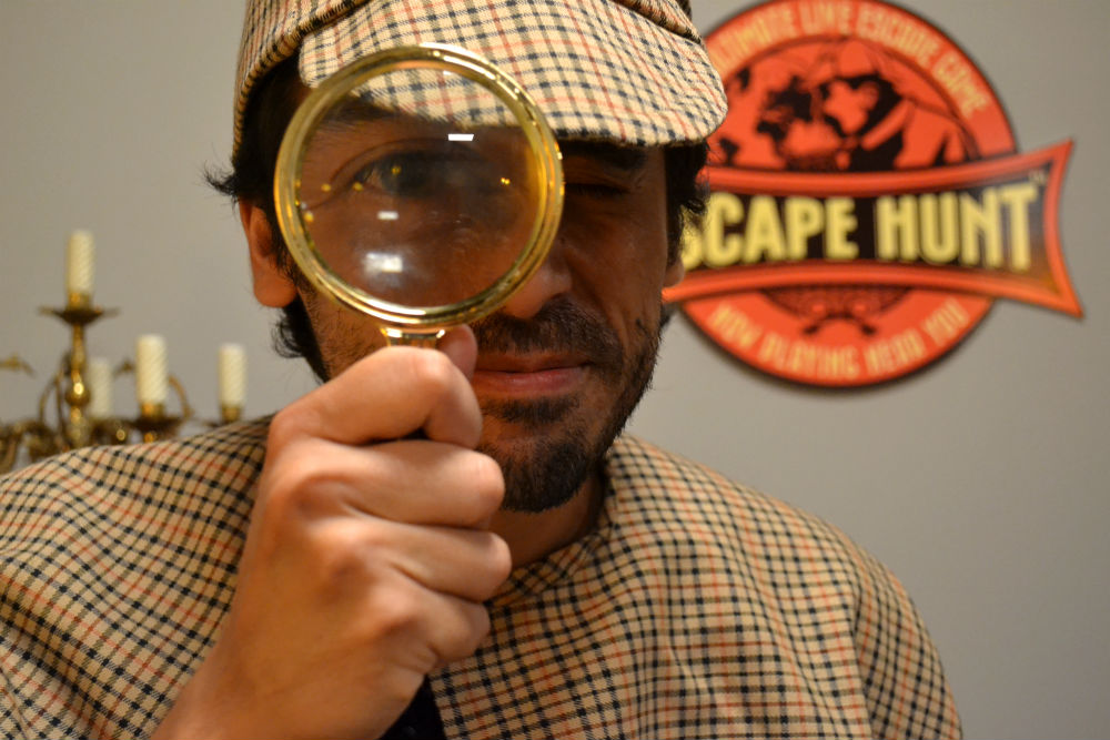 Escape Hunt proves far from elementary, my dear Watson