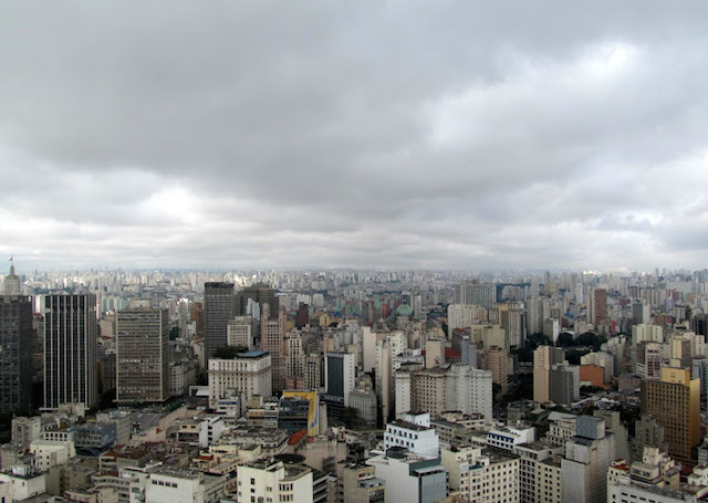 The concrete jungle of São Paulo   Credit: Daytours4u