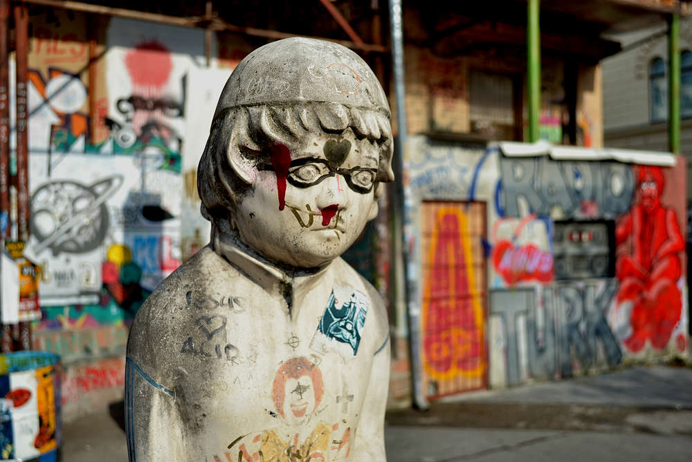 Metelkova is the city's alternative culture / drinking hub...