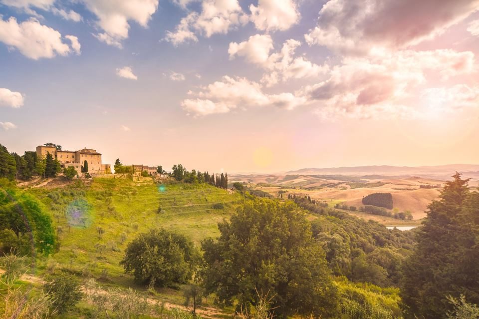 The surrounding countryside (Photo from Castelfalfi Facebook page).