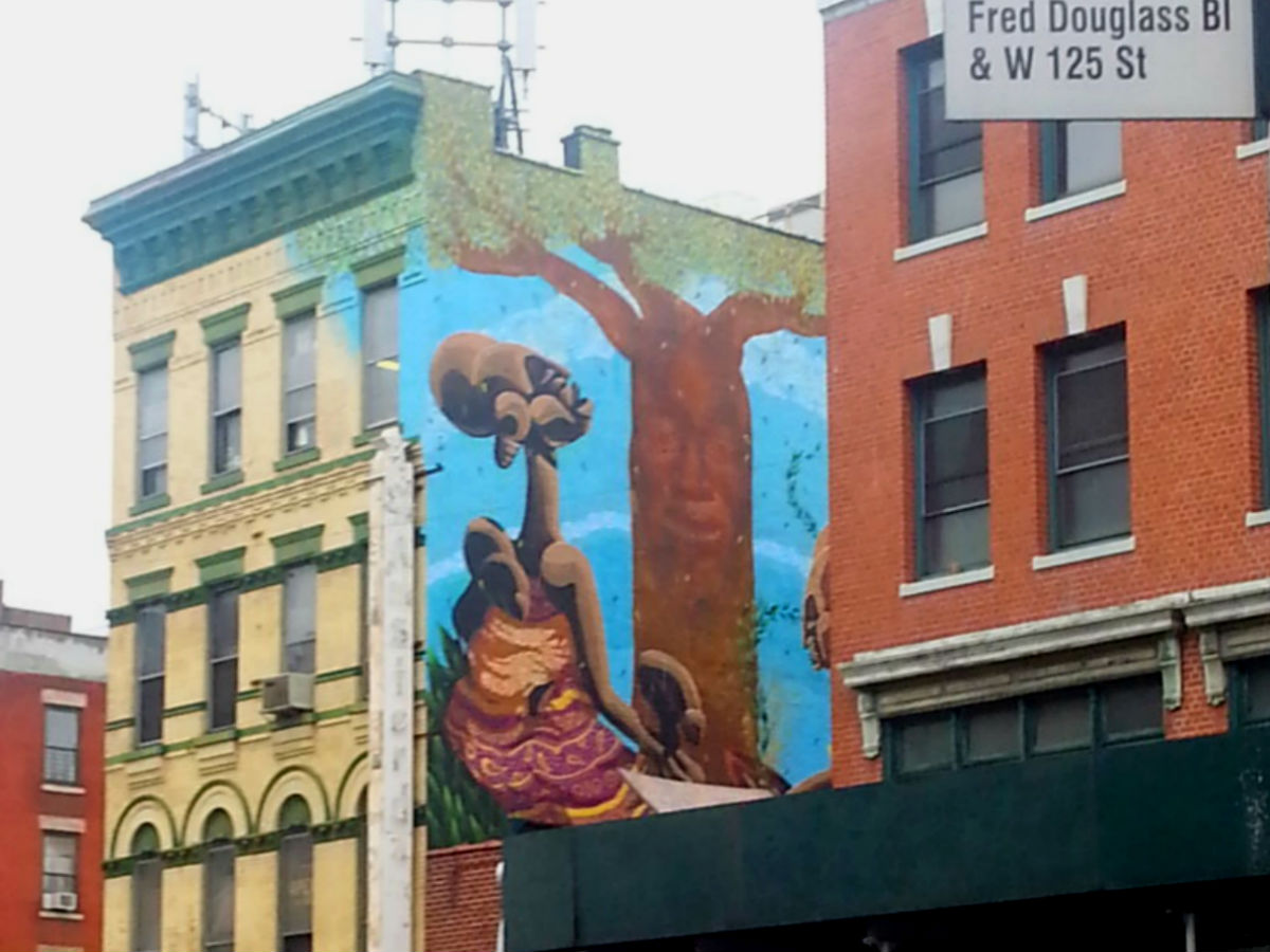 Africa grows old in Harlem.