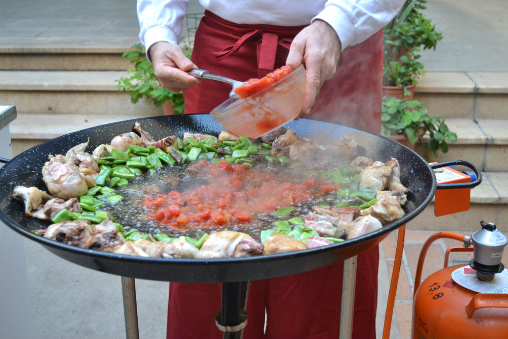 recipe for a paella