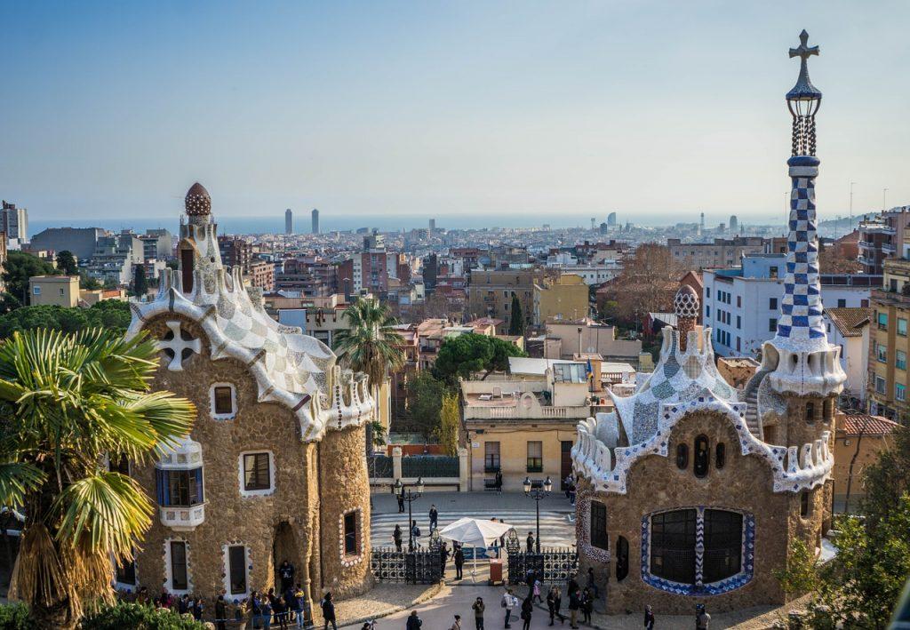 Gaudi does gardening
