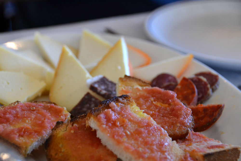 cured meats and Mahon cheese