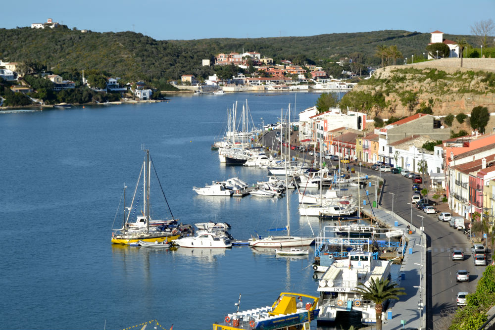 The world's second largest harbour, right here in Menorca