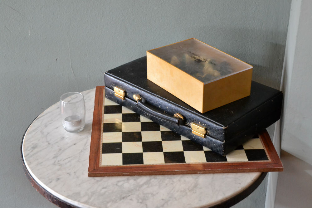 Pawn to king three.