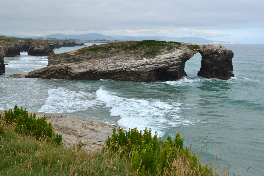 Even the beaches are holy in Galicia...