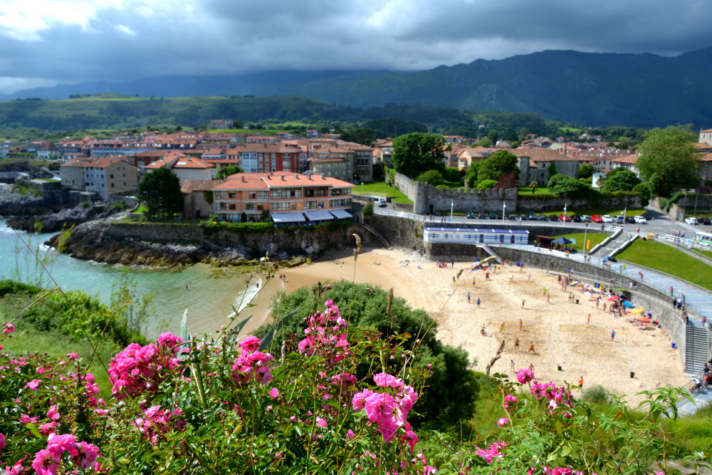 View over Llanes