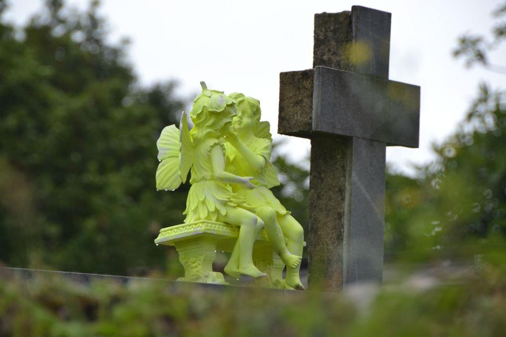 Rural graveyard