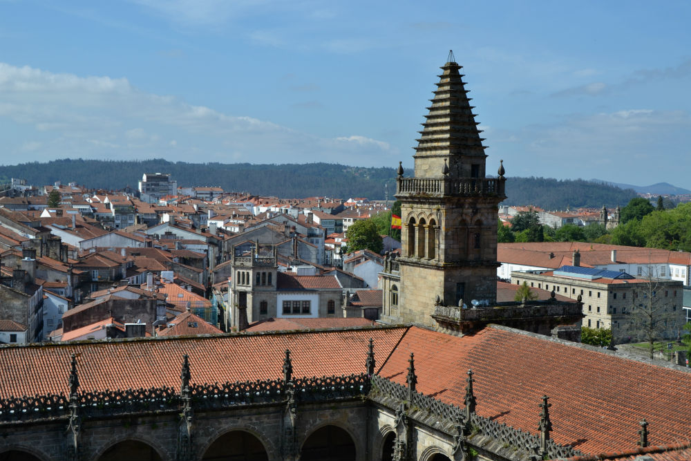 Great views from the Cathedral roof