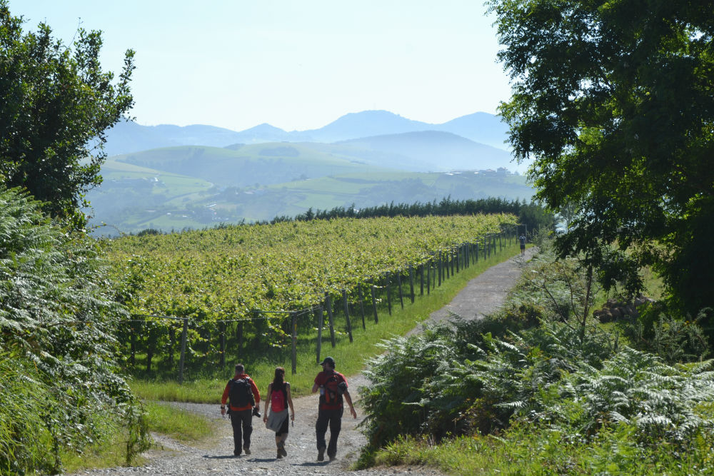hiking basque country