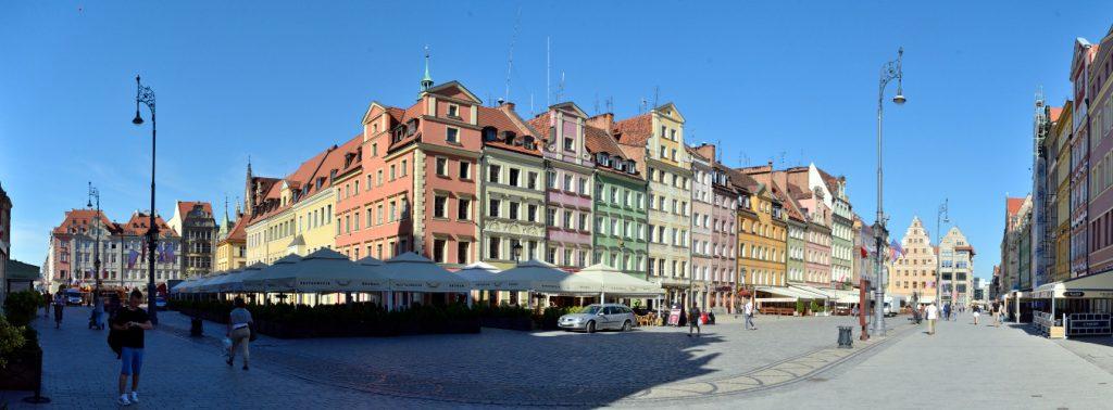 Breslau Tritt Panorama Bild