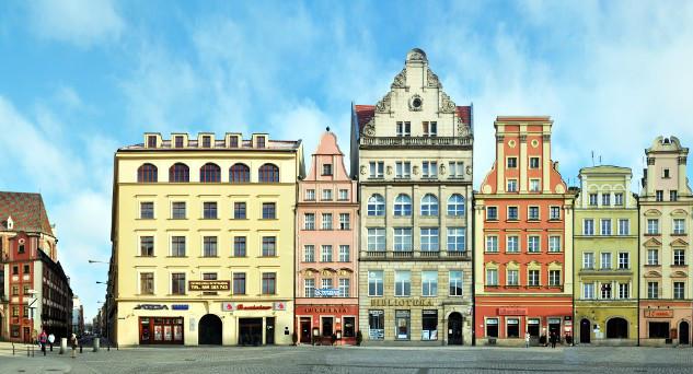 Wroclaw Rynek Panorama