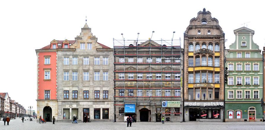 Breslau Ring Panorama Schlesien Polen