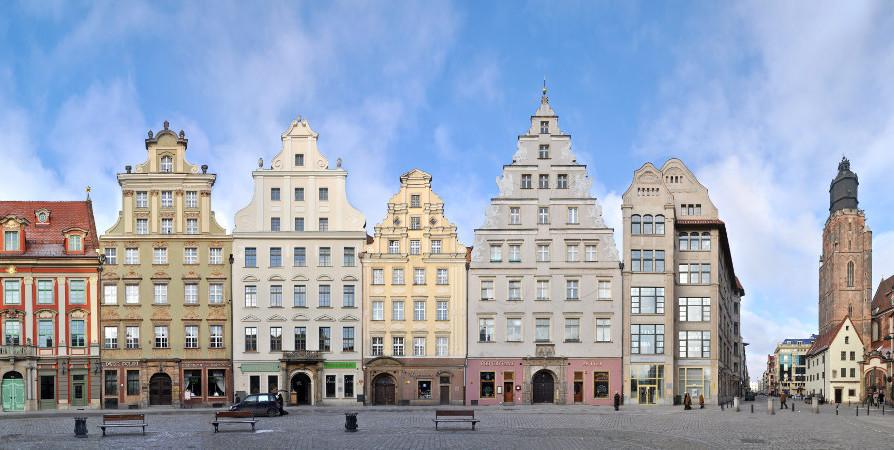 Wroclaw architecture rynek
