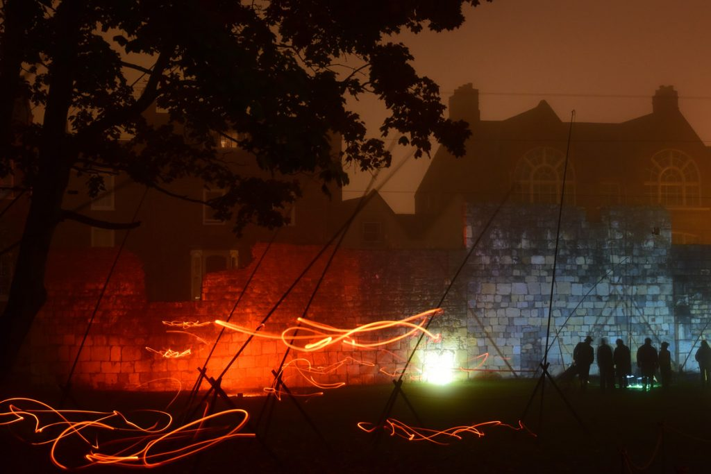 Illuminating York. Photo: Anthony Chappel-Ross / Visit York