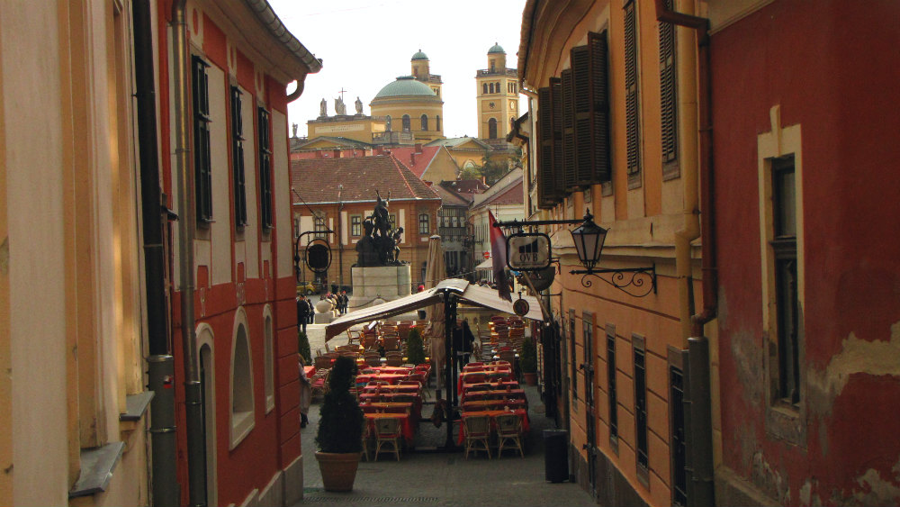 Honing in on the beauty of Eger