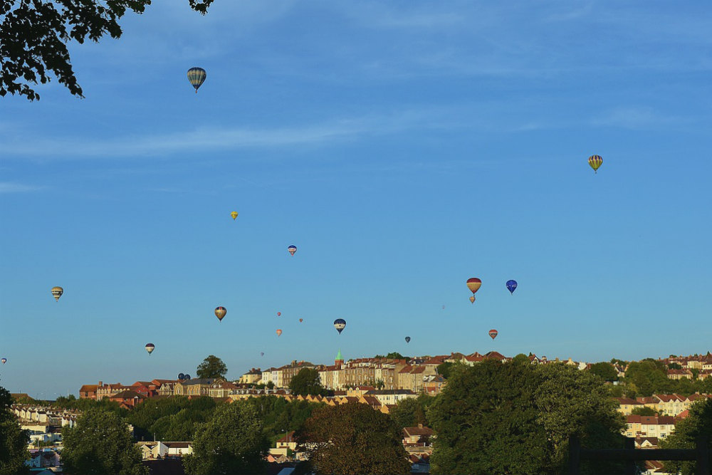 hot air balloons bristol