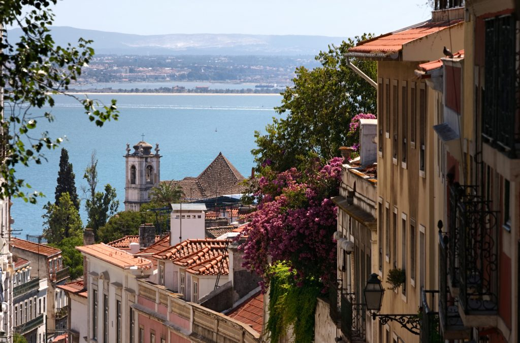 Lisbon is built on seven hills, and all offer views to the river