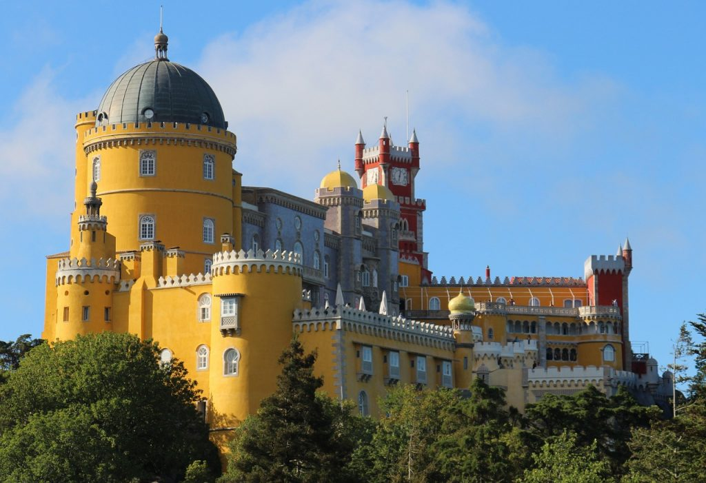 Some of Sintra's fairytale architecture...