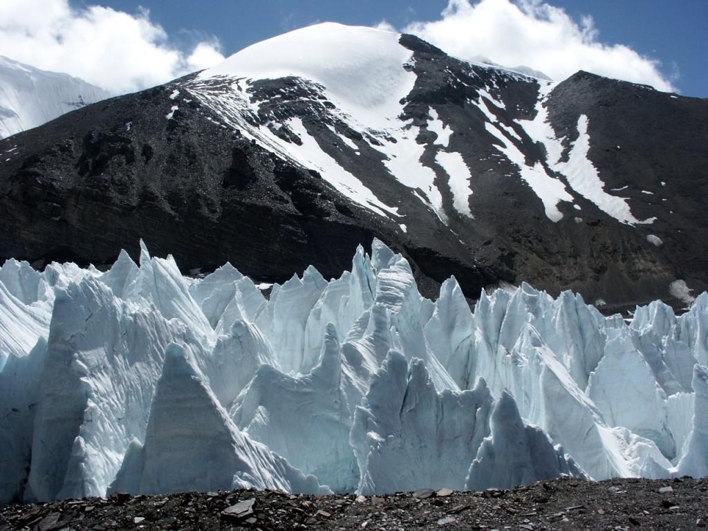 Glaciers in Tibet