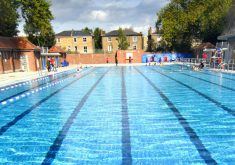 London outdoor swimming pools