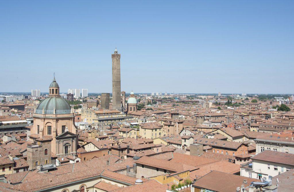 Views for miles from the Terazza di San Pietro.