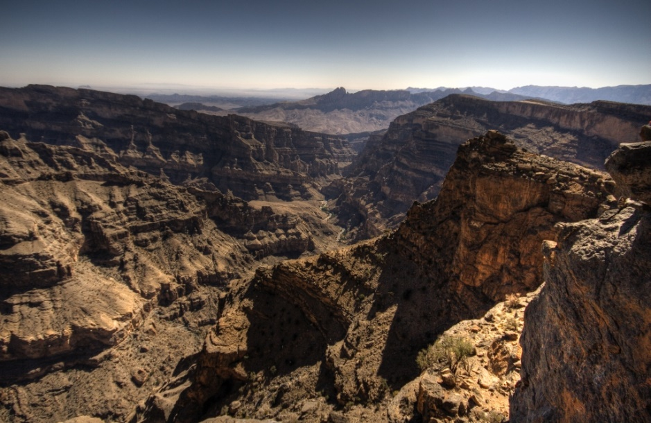 Wadi Nakhar - deeper than the Arizona Grand Canyon