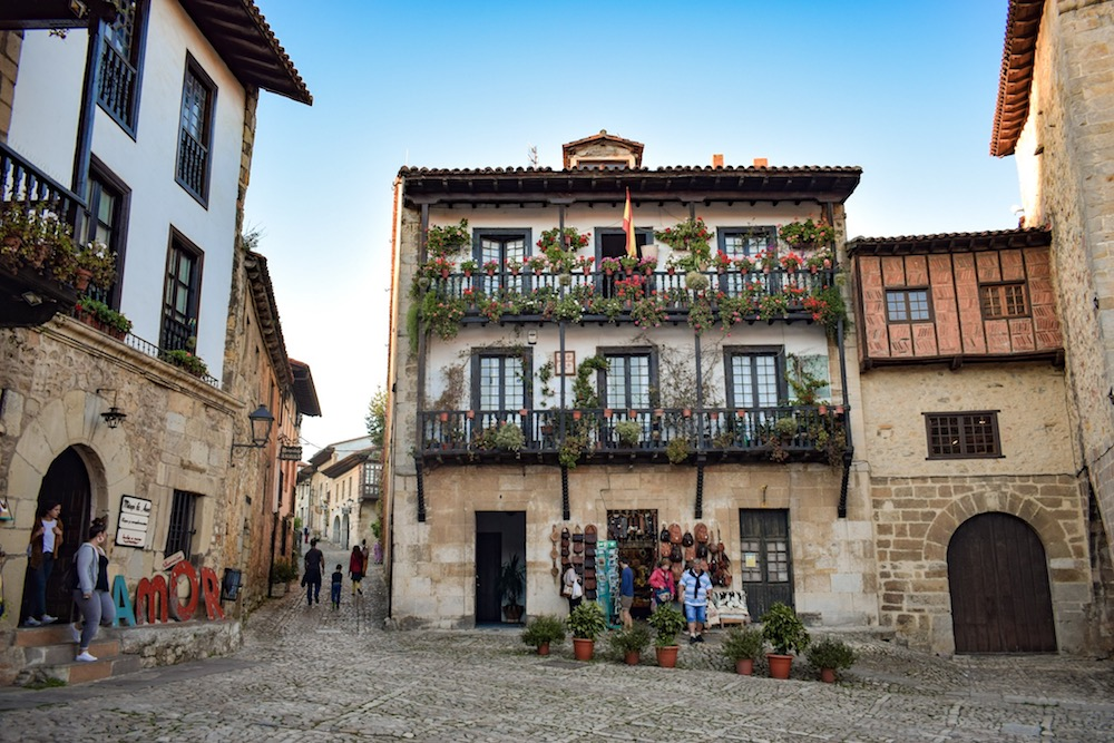 "Colour in Santillana del Mar, aka ""The Town of Three Lies"""