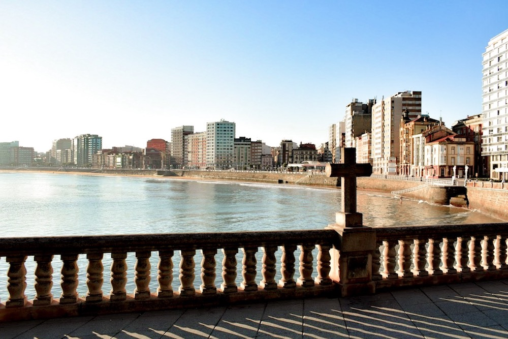 Gijón - a city on the sea
