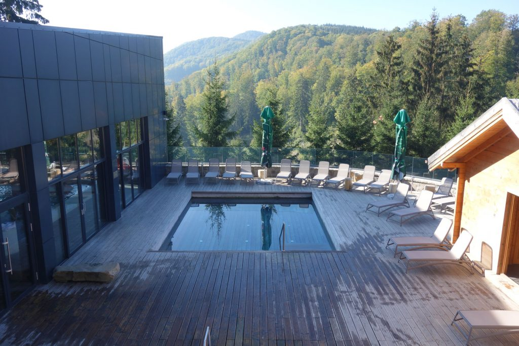 Balvanyos spa outdoor pool