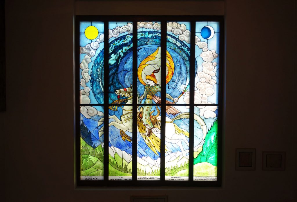 Szeckler National Museum stained glass