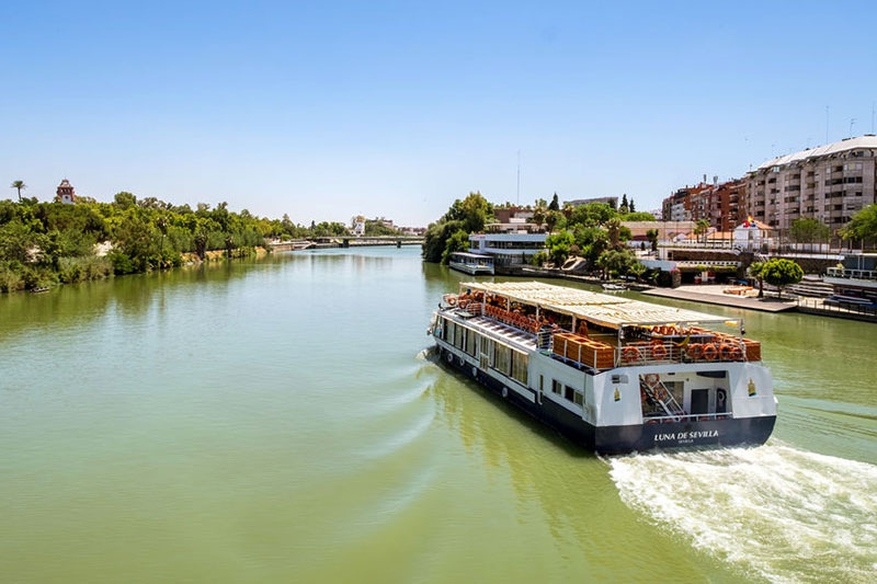 Take a cruise down the Guadalquivir river...
