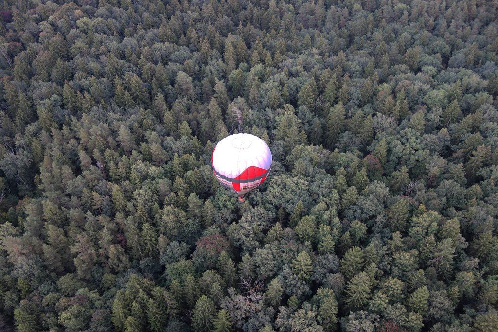hot air balloon Lithuania