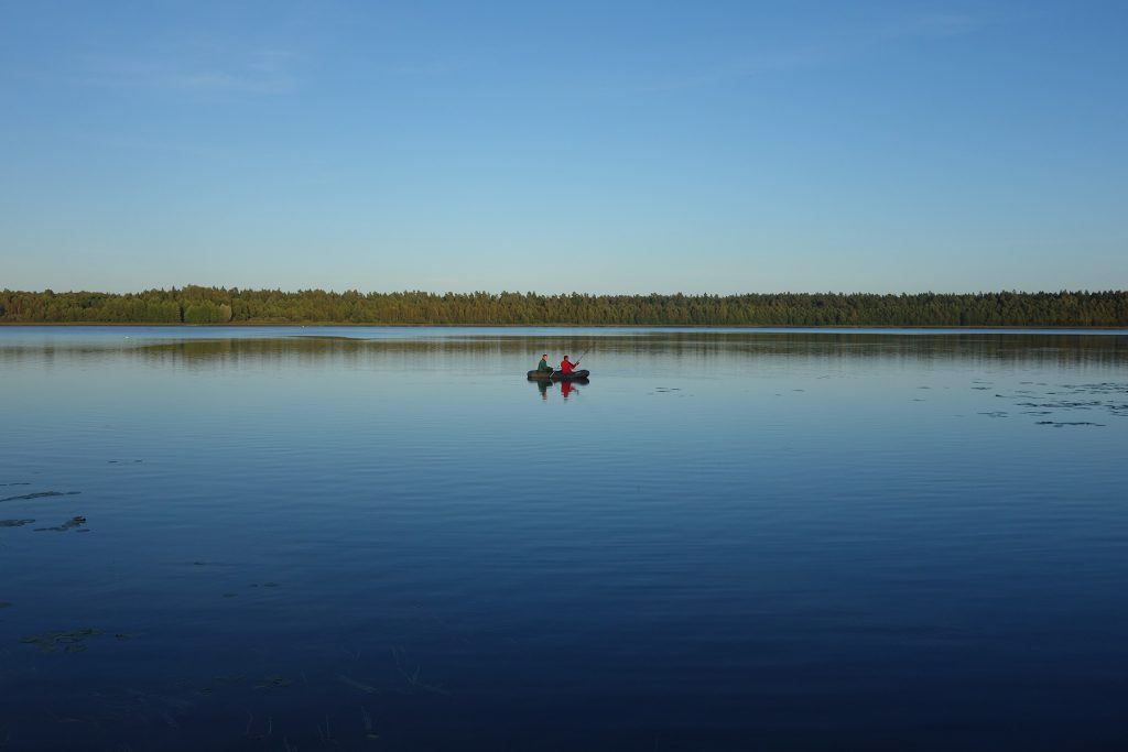 lake Plinksiai Lithuania